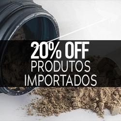 20% OFF Produtos Importados
