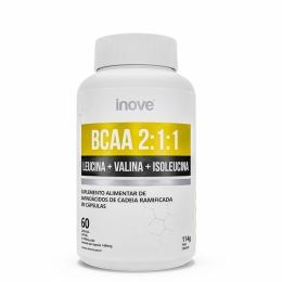 BCAA 211 - 60 cápsulas - Inove Nutrition